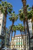 Rue à Malaga image libre de droits