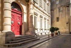Rue à Malte Images stock