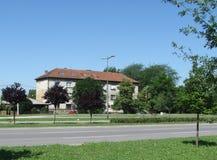 Rue à Novi Sad Photos libres de droits