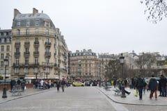 Rue à Paris Photo libre de droits