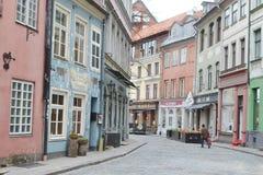Rue à Riga Photos stock