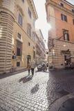 Rue à Rome Photographie stock libre de droits