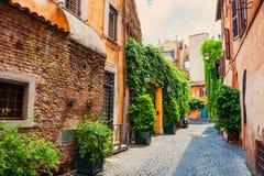 Rue à Rome, Italie photo libre de droits