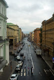 Rue à St Petersburg Images stock