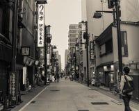 Rue à Tokyo, Japon Photographie stock libre de droits