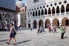 Rue à Venise Photo libre de droits