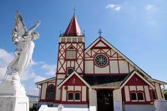 Rue Église de foi dans Rotorua photographie stock libre de droits