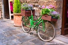Rue étroite à Florence Image stock