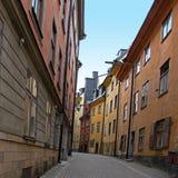 Rue étroite Image libre de droits