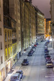 Rue étroite célèbre dedans d'abord Photos libres de droits