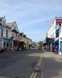 Rue antérieure, Newquay Photographie stock libre de droits