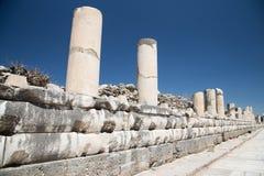 Rue antique dans Ephesus Photo libre de droits