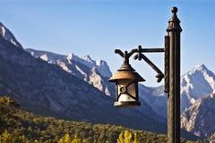 rue antique de lampe images libres de droits