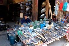 Rue antique de Yuanjiang Photo stock