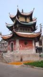 Rue antique de Yuanjiang Images libres de droits
