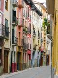 Rue antique sans personnes Photo libre de droits