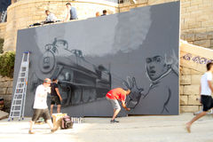 Rue Art Festival de Sliema Photo stock