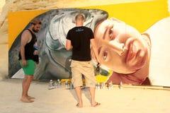 Rue Art Festival de Sliema Photo libre de droits