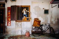 Rue Art Mural à Georgetown Photographie stock