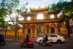 Rue au Vietnam Photographie stock libre de droits
