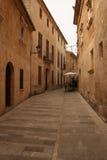 rue authentique d'Espagnol de scène Photos libres de droits