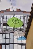 Rue baptisée du nom de Mary Poppins Photographie stock libre de droits