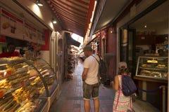Rue Basse, Monaco. Royalty Free Stock Image