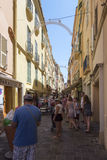 Rue Basse, Monaco. Stock Photography