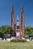 Rue Bonifatius Kirche images libres de droits