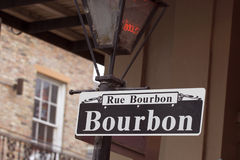 Rue Bourbon Royalty-vrije Stock Foto