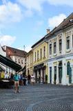 Rue Budapest, photos stock