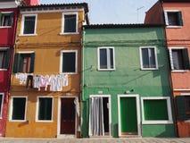 Rue - Burano images libres de droits