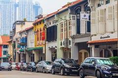 Rue célèbre de club à Singapour Photo stock