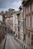 Rue Caminade Albi fotos de archivo libres de regalías