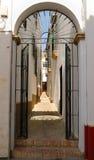 Rue Carmona de porte Images libres de droits