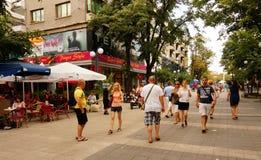 Rue centrale principale Images stock