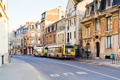 Rue Chanzy in Reims Royalty Free Stock Photography