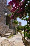 Rue chez Omis, Croatie Images libres de droits