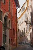 Rue colorée en Italie Photo libre de droits