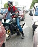 Rue-coureur Image stock