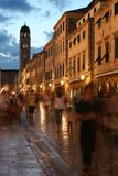 Rue croate Photo libre de droits