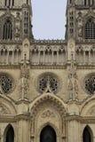 Rue Croix de cathédrale d'Orléans - vue de face 1 Image libre de droits