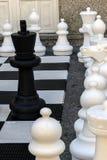 Rue d'échecs Photo stock