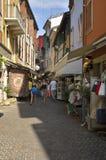 rue d'achats Photographie stock libre de droits