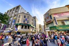 Rue d'achats d'Insadong : Corée Images libres de droits