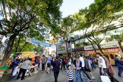 Rue d'achats d'Insadong : Corée Image libre de droits