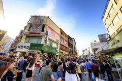 Rue d'achats d'Insadong : Corée Photo libre de droits
