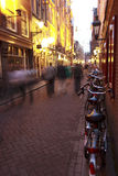 Rue d'Amsterdam Photo stock