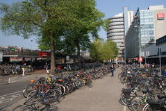 Rue d'Amsterdam photo libre de droits