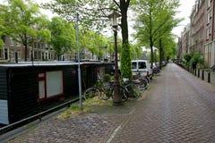Rue d'Amsterdam Photos libres de droits